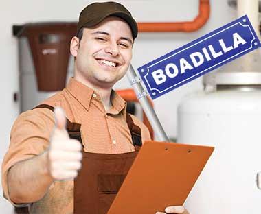Servicio tecnico de reparación de calderas en Boadilla