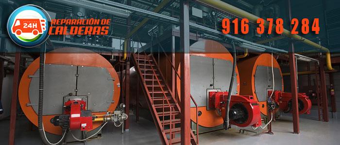 Calderas de gas industriales semejantes a las de la sustitucion de calderas en Alcobendas