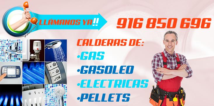 Reparacion de calderas de gas, gasoleo, electricas y pellets en Pinto