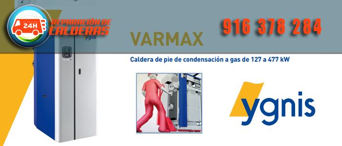 Nueva caldera de condensacion Varmax a gas