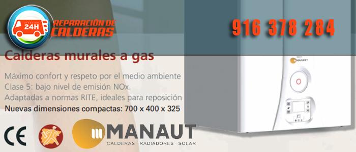 Nueva gama de calderas de gas Manaut Midas