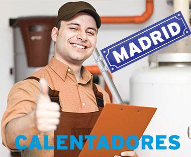 reparacion calentadores Madrid