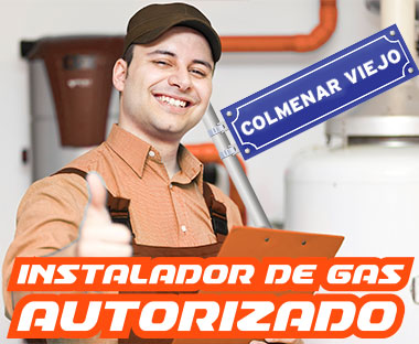 Instalador autorizado de gas Colmenar Viejo