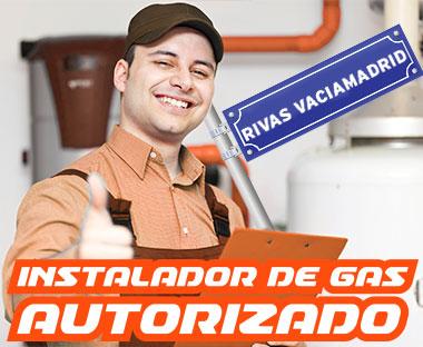 Instalador autorizado de gas Rivas Vaciamadrid