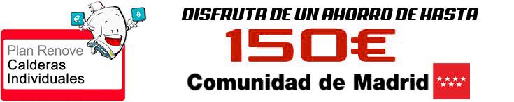 PLAN renove de calderas de la Comunidad de Madrid