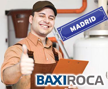 Servicio Tecnico de calderas BaxiRoca Madrid