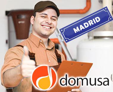 Servicio Técnico Calderas Domusa Madrid
