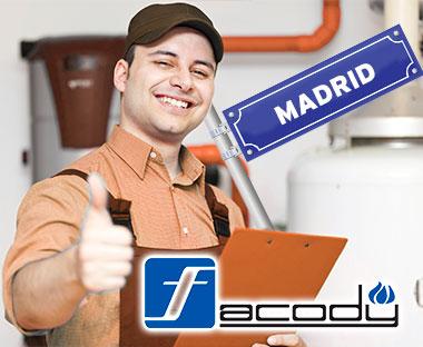 Servicio Técnico Calderas Facody Madrid