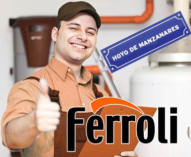 Servicio Técnico Calderas Ferroli en Hoyo de Manzanares