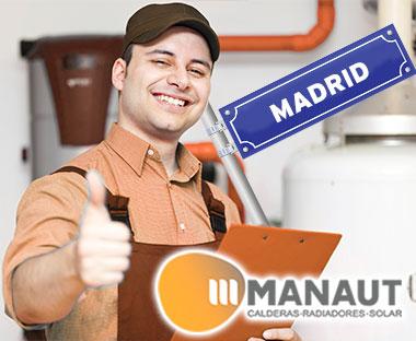 Servicio Tecnico de Calderas Manaut Madrid