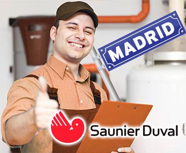 Servicio Técnico Calderas Saunier Duval en Madrid