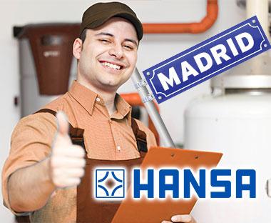 Reparación de Quemadores Hansa en Madrid