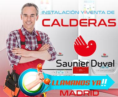 Instalación y venta de calderas Saunier Duval en Madrid