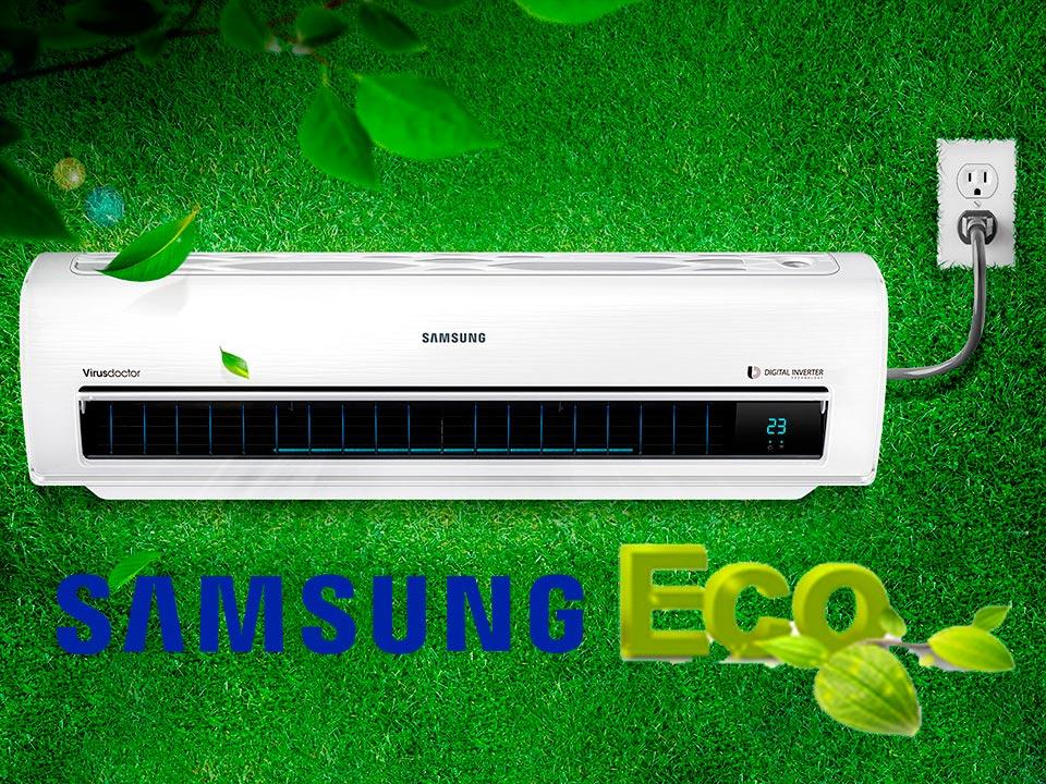 Aire acondicionado Samsung Ecológico